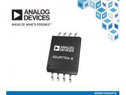 贸泽电子开售Analog Devices ADuM7704 Sigma-Delta调制器