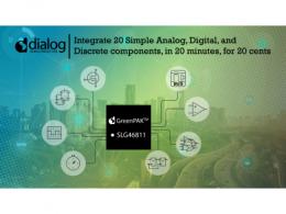 Dialog为最新纳安级GreenPAK™器件添加多通道输入功能