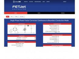 UnitedSiC发布新的FET-Jet计算器TM