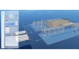 绿色物流-智慧仓储监控管理 3D 可视化系统