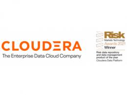 """2021年风险市场技术奖揭晓,Cloudera荣膺""""年度数据管理产品"""""""