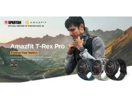 Amazfit T-Rex Pro:一款军规级别的可靠智能手表,拥有匹配您自己的耐力,电池寿命长达18天