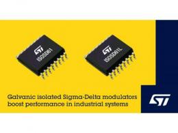 意法半导体发布高集成度电隔离Sigma-Delta调制器 提高测量精度和可靠性