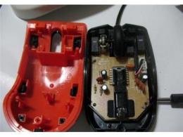 光电鼠标原理图及工作原理
