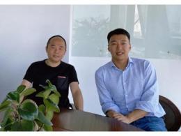 微软大中华区董事长兼CEO侯阳拜会日海智能集团CEO杨涛