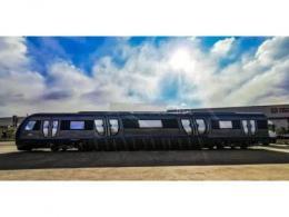 中国中车子公司正式交付全球首列全碳化硅永磁直驱列车