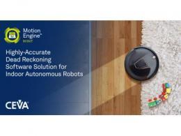 CEVA发布适用于室内自主机器人的 高精度航位推算软件解决方案MotionEngine™ Scout