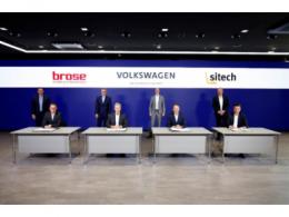 博泽与大众汽车签署合资协议