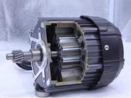 4张图看明白电机的旋转原理和发电原理