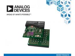 贸泽备货Analog Devices ADAQ23875  16位15 MSPS µModule数据采集解决方案