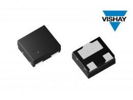 Vishay推出具有超低电容的两线ESD保护二极管