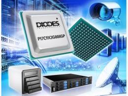 Diodes Incorporated 的 8 埠 PCIe 3.0 数据包切换器兼具设计灵活性及省电两项特色