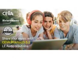 CEVA蓝牙双模5.2平台获得SIG认证, 加速TWS耳塞及各种产品的IC设计