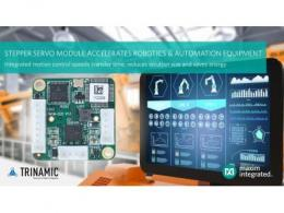 Maxim Integrated发布Trinamic伺服控制器/驱动器模块