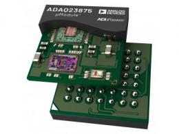 ADI高精度高速DAQ μModule®可实现更小的解决方案尺寸并缩短上市时间