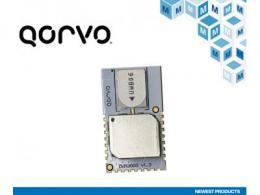 贸泽备货Qorvo高度集成的DWM3000 RF模块 为汽车和资产跟踪应用再添新助力