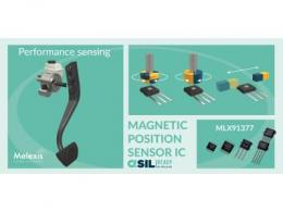 Melexis 宣布推出最新款 Triaxis® 位置传感器芯片及全新无 PCB 封装选项