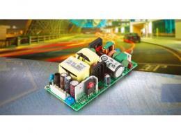 裸板型,自然对流冷却80W电源,为照明、显示、ITE和工业应用提供解决方案