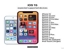 iOS 15下周发布!适配机型名单曝光:iPhone 6S用户被抛弃