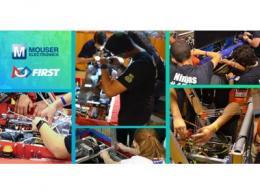 贸泽电子赞助面向青少年的FIRST 机器人竞赛  助力培养下一代工程师