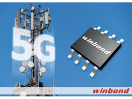 华邦推出全新1.8V 512Mb SPI NOR Flash 助力5G、云端应用等多个市场