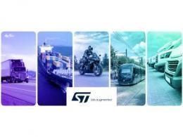 贸泽联手STMicroelectronics打造全新资源网站  以多样化的内容助力交通运输原型设计