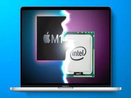 受苹果自主芯片冲击 英特尔笔记本芯片份额明年将跌破80%