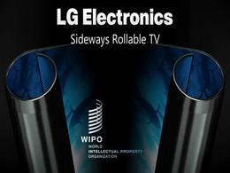 LG 可卷曲 OLED电视专利公开:屏幕可从两侧滚动收起