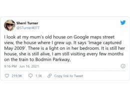 暖心黑科技:谷歌地图上能寻找已故亲人