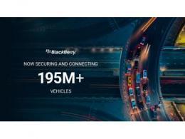 全球超1.95亿辆汽车搭载BlackBerry QNX软件