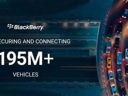 全球超 1.95亿辆汽车搭载BlackBerry QNX软件