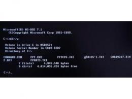 dos系统是什么操作系统 常用dos命令大全及其用法详解
