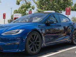 Tesla Model S Plaid 的快充充电功率
