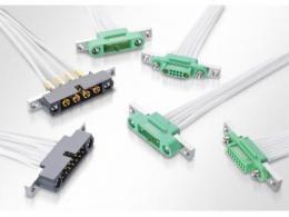 Harwin 为关键的 Hi-Rel 电缆连接器产品推出后面板安装选项