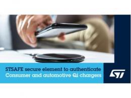 意法半导体消费和车规 Qi 认证充电器安全解决方案助力无线充电市场发展