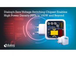 Dialog推出用于高功率密度PSU的零电压开关技术,扩充AC/DC产品组合