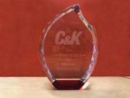 年度最佳经销商奖 — Master Electronics