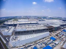 特斯拉上海超级工厂(一期)正式建设完毕