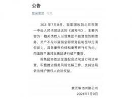 【突发】2000亿债务压顶 紫光集团被徽商银行申请破产重整