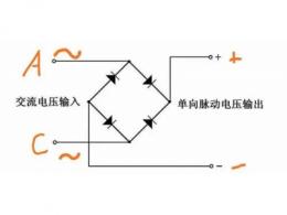 整流桥怎么接线 整流桥的接线方法 整流桥实物接线图