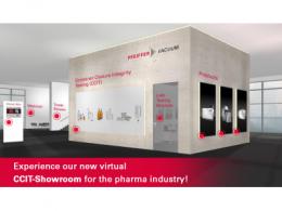 发真空虚拟展示厅上线:全面展示制药行业的泄漏检测解决方案