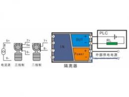 信号隔离器一入二出什么意思 一进两出信号隔离器接线图