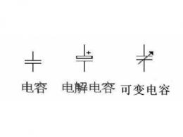 电解电容器的电工符号 电解电容器主要参数