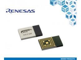 贸泽开售Renesas RX23W低功耗蓝牙模块 为物联网系统控制提供支持