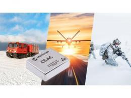 Microchip推出新型芯片级原子钟(CSAC), 可在极端环境下提供更大的工作温度范围、更快预热和更好的频率稳定性
