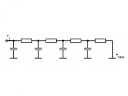 IGBT模块及散热系统的等效热模型