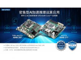研华Mini-ITX AIMB-277/287新品上市,搭载第10代Intel Core处理器密集型AI加速推理运算应用