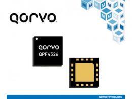贸泽开售微型Qorvo QPF4526 Wi-Fi 6前端模块