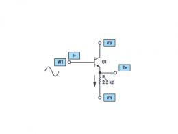 ADALM2000实验:发射极跟随器(BJT)