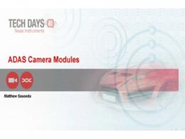 分享 | 智能驾驶和智能辅助驾驶摄像头模块